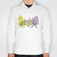 valentines Hoodies featuring undersea valentines by Ham Pattie
