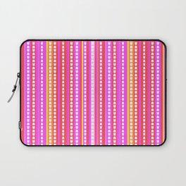 Fuschia Stripes Laptop Sleeve