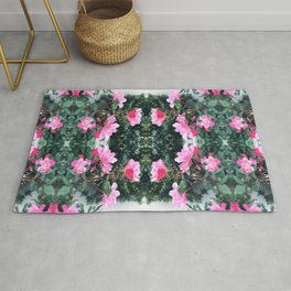Candy Coated Roses Rug