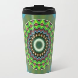 Basal Color Mandala 7 Travel Mug