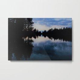Blue Lakes Metal Print