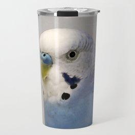 Blue Parakeet Travel Mug