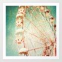 Vintage Ferris Wheel by andreka