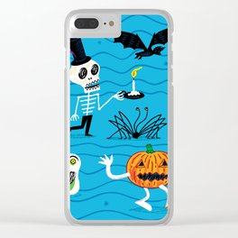 The Halloween Parade Clear iPhone Case