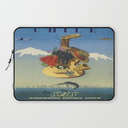 Vintage poster - Chile Laptop Sleeve