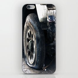Flat Tire! iPhone Skin