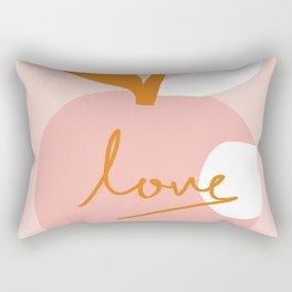 Abstraction_LOVE_BITE Rectangular Pillow