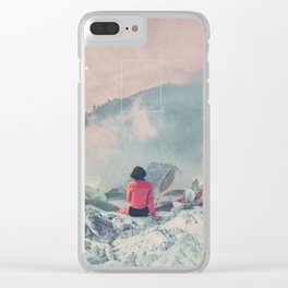 Lost in the 17th Dimension Clear iPhone Case