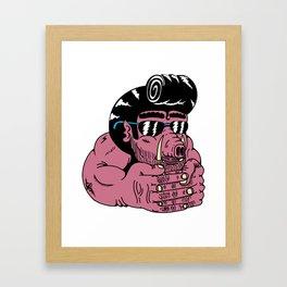Pigo Framed Art Print