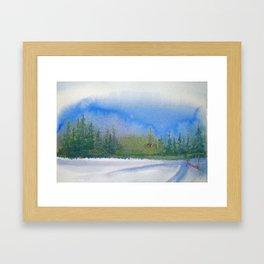Winter's Day Framed Art Print