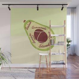 Enjoy Avocados Wall Mural