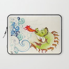 A happy dragon Laptop Sleeve