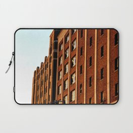 BRICK BUILDING IN THE AFTERNOON SUN - DETROIT Laptop Sleeve