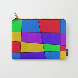 Colorful Window Two Carry-All Pouch