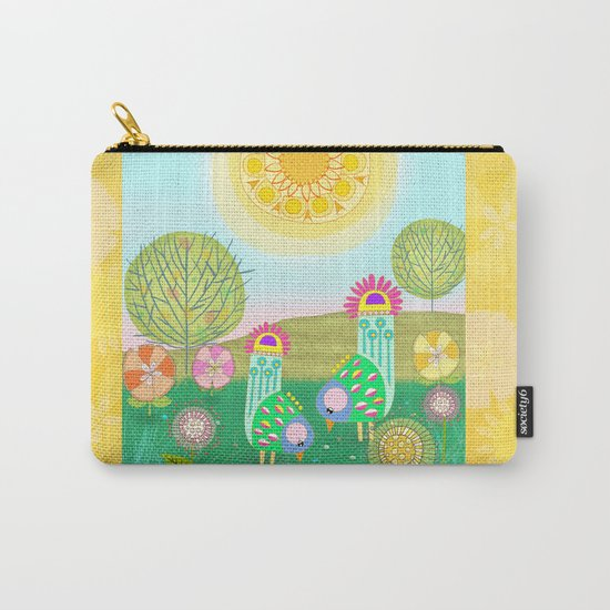 Chelsea Birds Carry-All Pouch