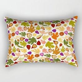 Fig Dance, Fall Orchard Rectangular Pillow