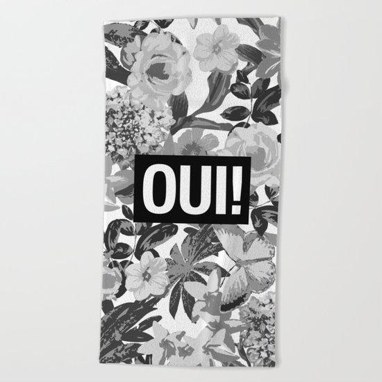 OUI Beach Towel
