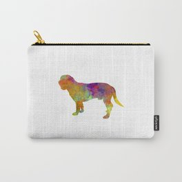 Hanoverian Scenthound in watercolor Carry-All Pouch
