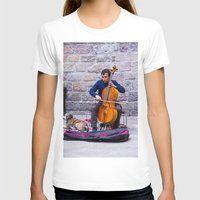 cello T-shirts featuring Cello by Fernando Derkoski