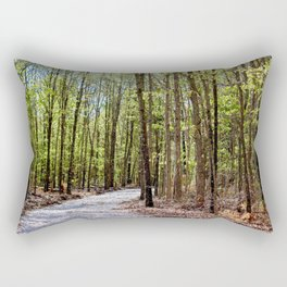 Into the Forest I Must Go!  Rectangular Pillow