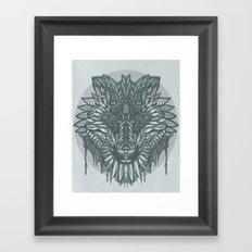 Soul Wolf Framed Art Print