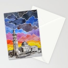 Sultan Qaboos Grand Mosque, Muscat, Oman Stationery Cards