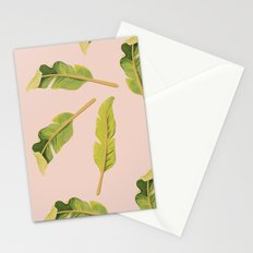 Tropical '17 - Solar [Banana Leaves] Stationery Cards