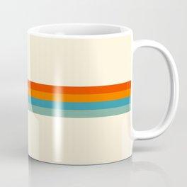 Delanoh - Colorful Abstract Stripes Coffee Mug