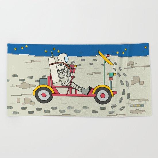 Moon Rover 1969 Beach Towel