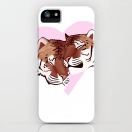 Tigers In Love iPhone Case
