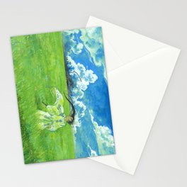 August - Indication of rain - Stationery Cards