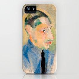 Igor Stravinsky (1882 – 1971) by Robert Delaunay in 1918 iPhone Case