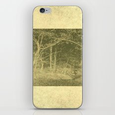 There is unrest in the forest iPhone & iPod Skin