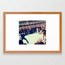 ready to rumble Framed Art Print