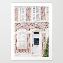 Another door opens in viva la France | Travel photography Art Print Art Print