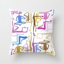 Community 3 Throw Pillow