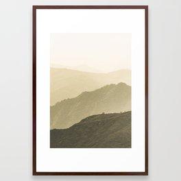Cali Hills Framed Art Print