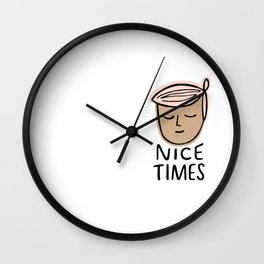 Nice Times Bailey Wall Clock