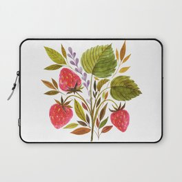 Early Summer Strawberries Are The Sweetest Laptop Sleeve