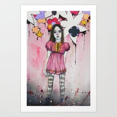 just wednesday night Art Print