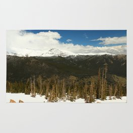 Mountianscape In The Rockies Rug