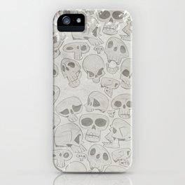 Skulls Pattern iPhone Case