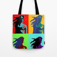 Warhol Goddess Tote Bag
