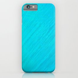 Turquoise Marble River iPhone Case