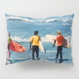 Crown City Surf Kids Pillow Sham