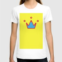 crown T-shirts featuring CROWN by ^NHRK