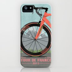 Tour De France Bike Slim Case iPhone (5, 5s)