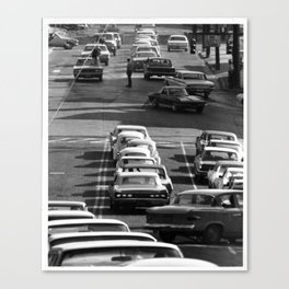 Intersection Traffic Canvas Print