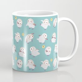 Baby Barn Owls Coffee Mug