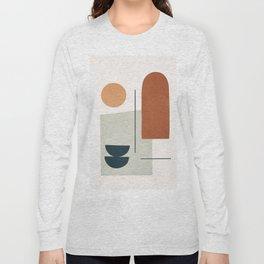 Minimal Shapes No.38 Long Sleeve T-shirt